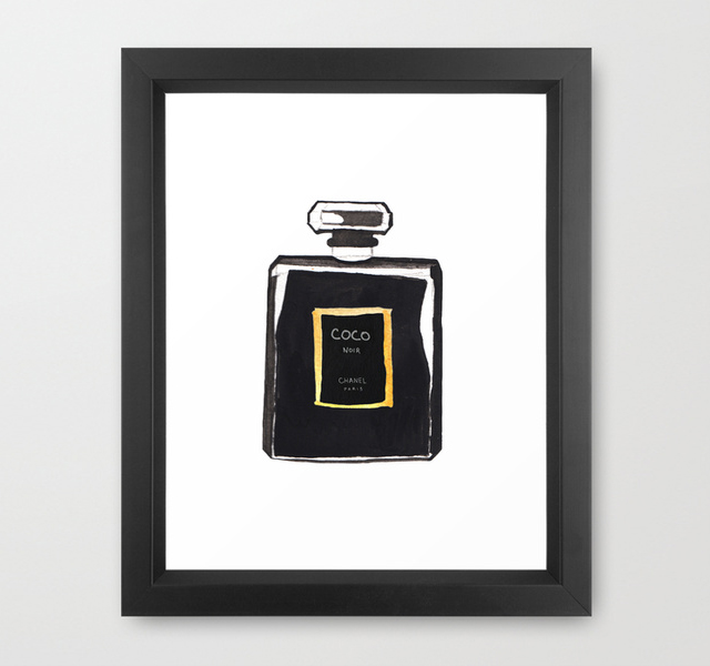 Chanel Noir Perfume Bottle