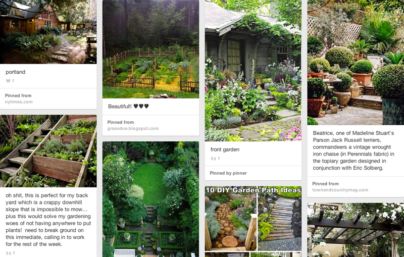 garden board on Pinterest