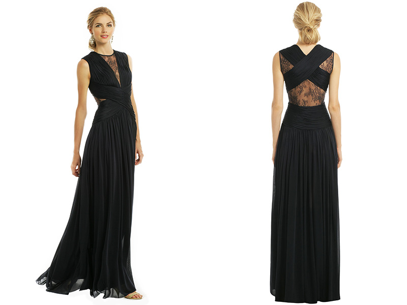Catherine Deane gown from Rent the Runway