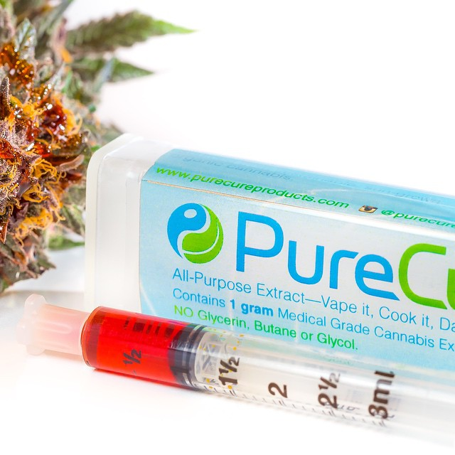 Pure cure Oil Kit, 1G, Eat it, Vape it, Dab it, Smoke it.  #edible #710 #greendoorsf  #legalizeit #marijuana #cannabis #freedom #Purecure #uncut #cartridge #beyondthc #420 #extract #concentrate #vape #vapelifestyle #emeraldtriangle #bayarea #losganjales #hightimes #fueledbythc #dank #loud