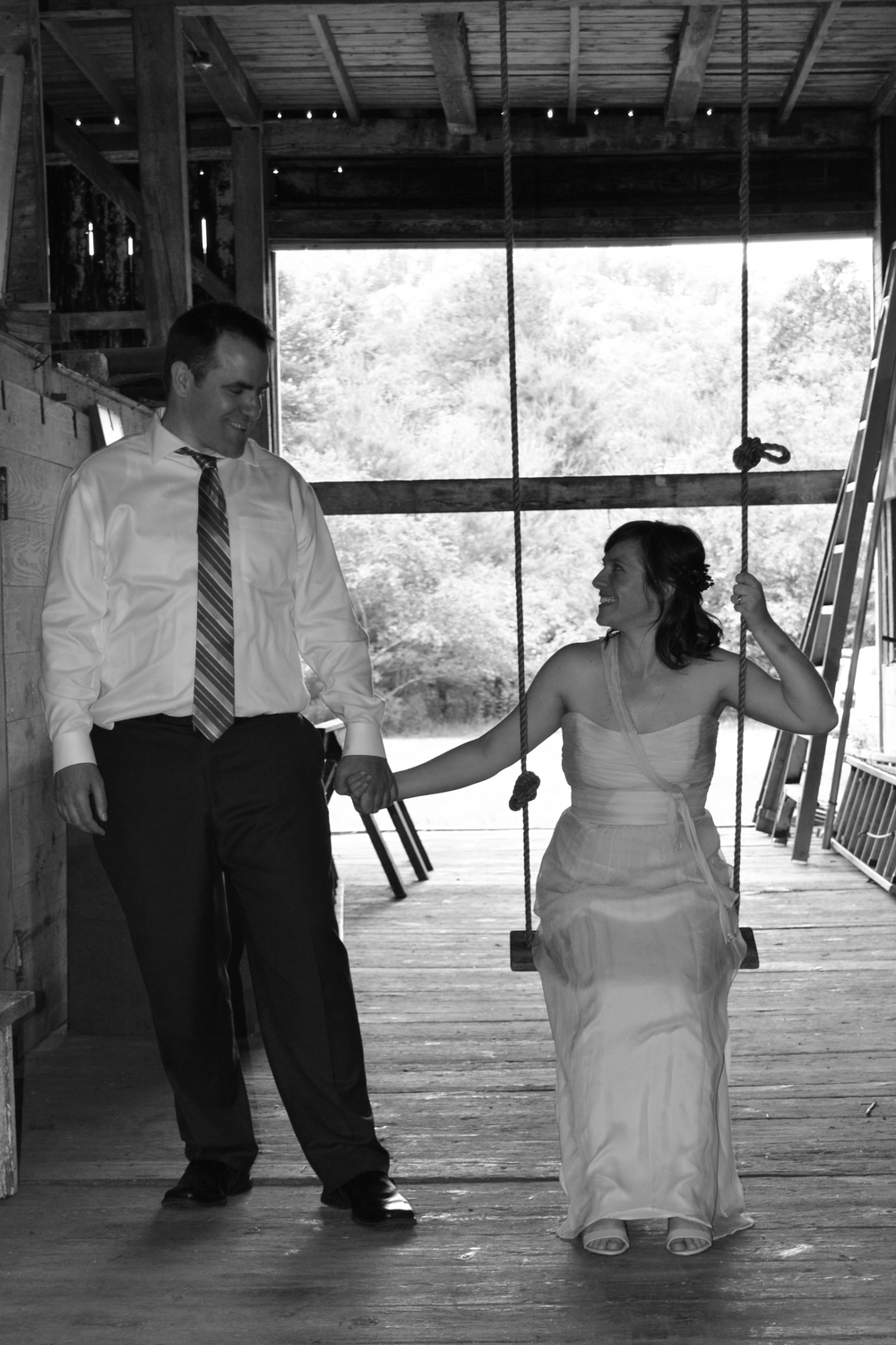black and white wedding Ashley's Perfect Prints