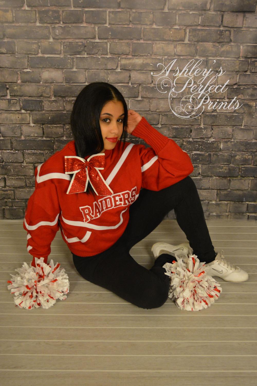 senior cheerleader session