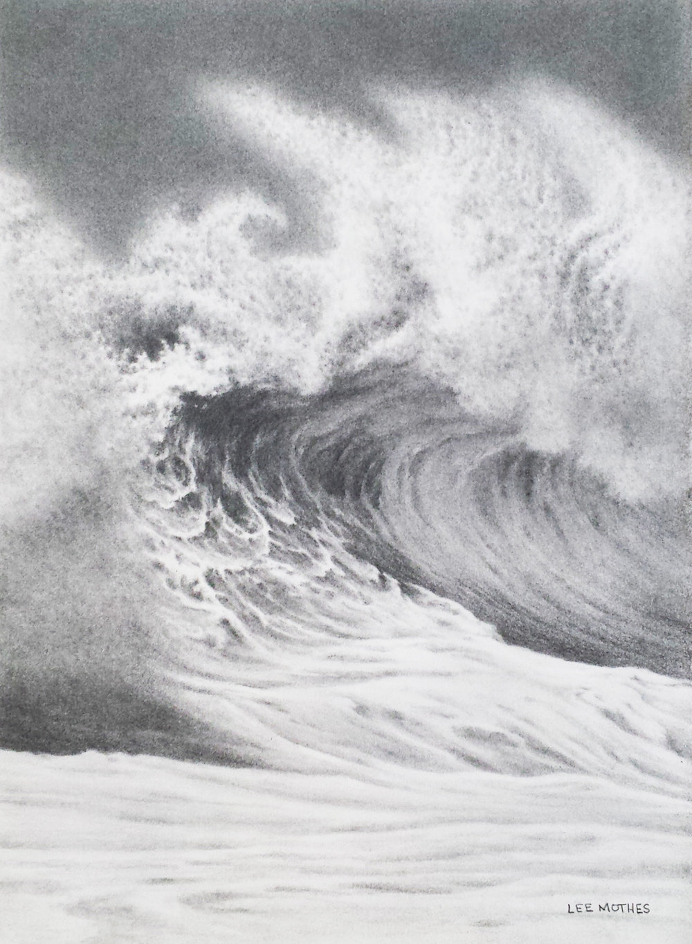"15"" by 11"" crazy wave...new drawing!"