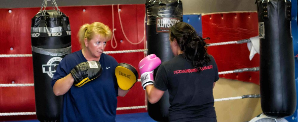 Ruth Kristensen owner Pacific Coast Boxing