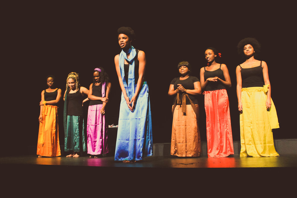 For Colored Girls Cambridge. Photo Credit  -Joseph Mambwe