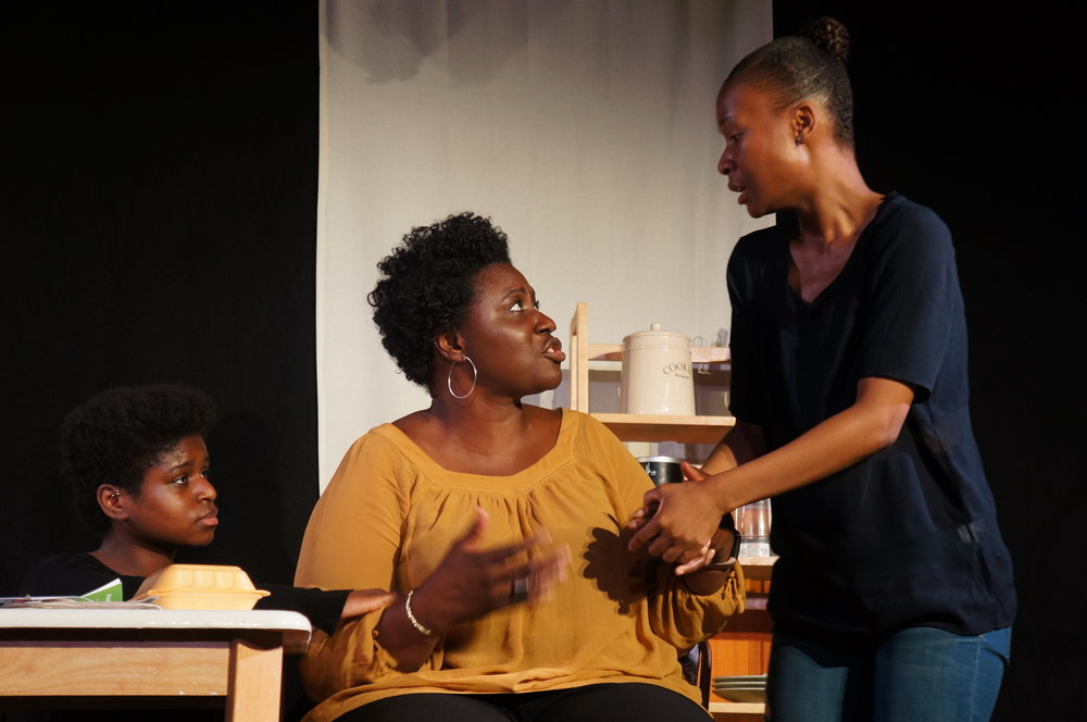 UMUADA (2018), Actors: Tomi Ogunjobi, Tayo Elesin and Jess Layde, Photo Credit: Emma Blacklay-Piech