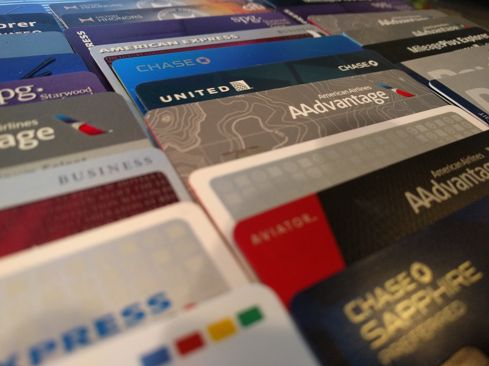 The more than 30 credit cards we used to earn more than 864,000 points and miles in 2015.