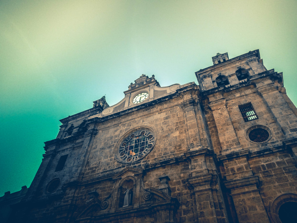 Cartagena- looking up at church exterior RTW.jpg
