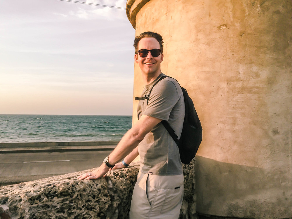 Cartagena- Nate in front of wall turret RTW.jpg
