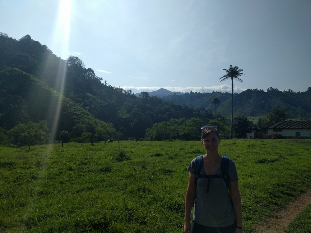 Beautiful hike in Salento, Colombia