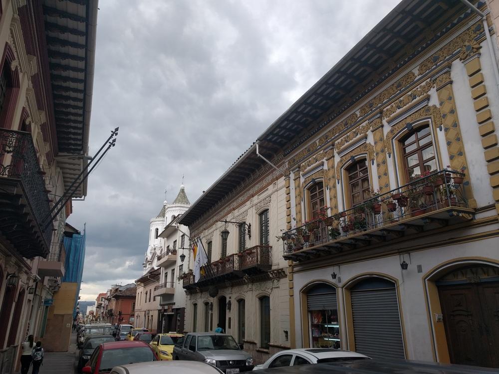 Cloudy Cuenca