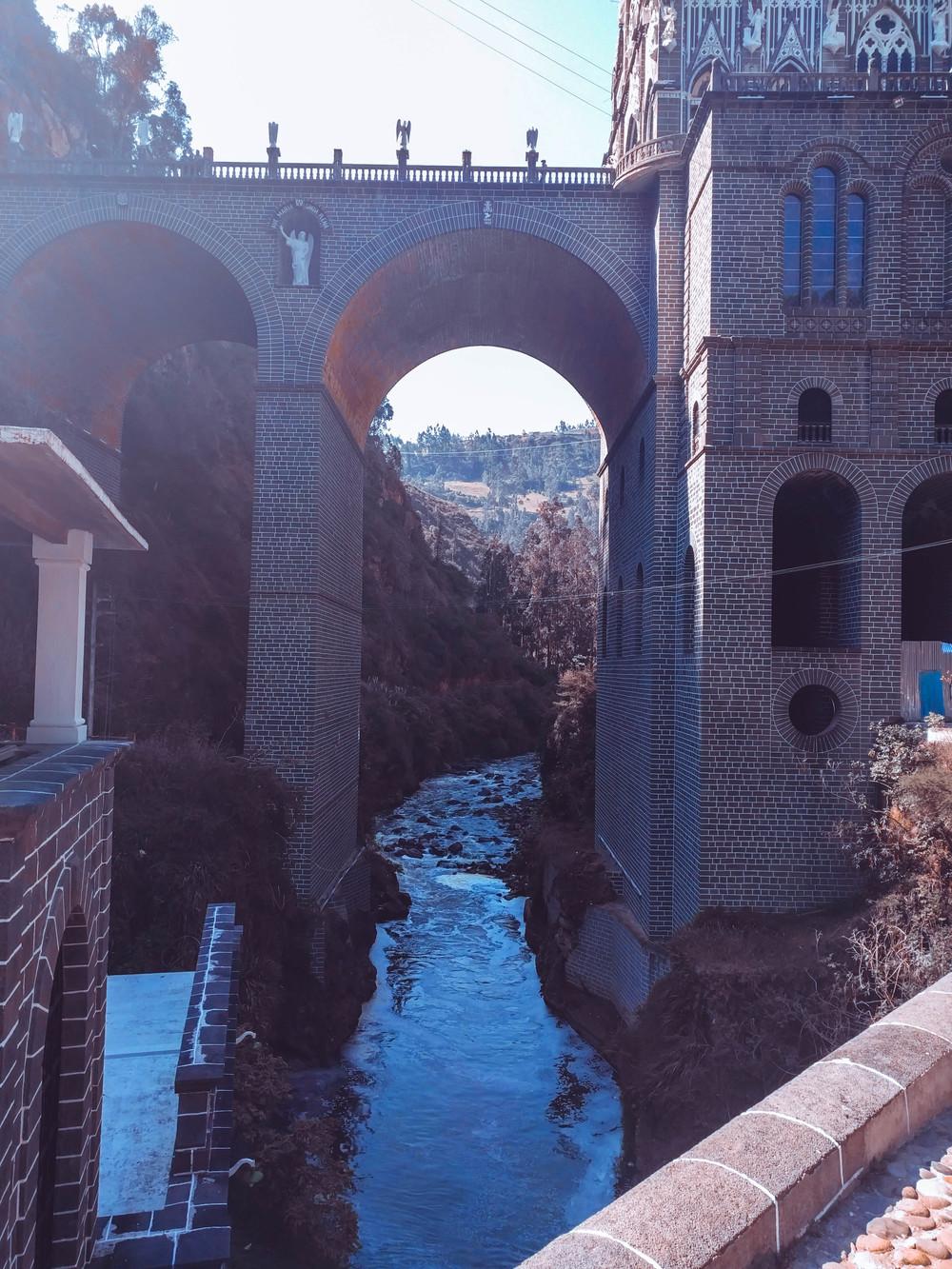 Ipiales- church below with river.jpg