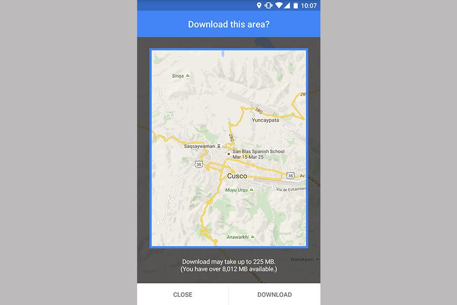 RTW Google Maps Offline 4