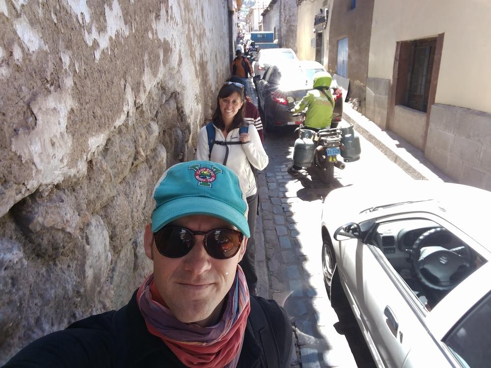 Navigating Cusco!