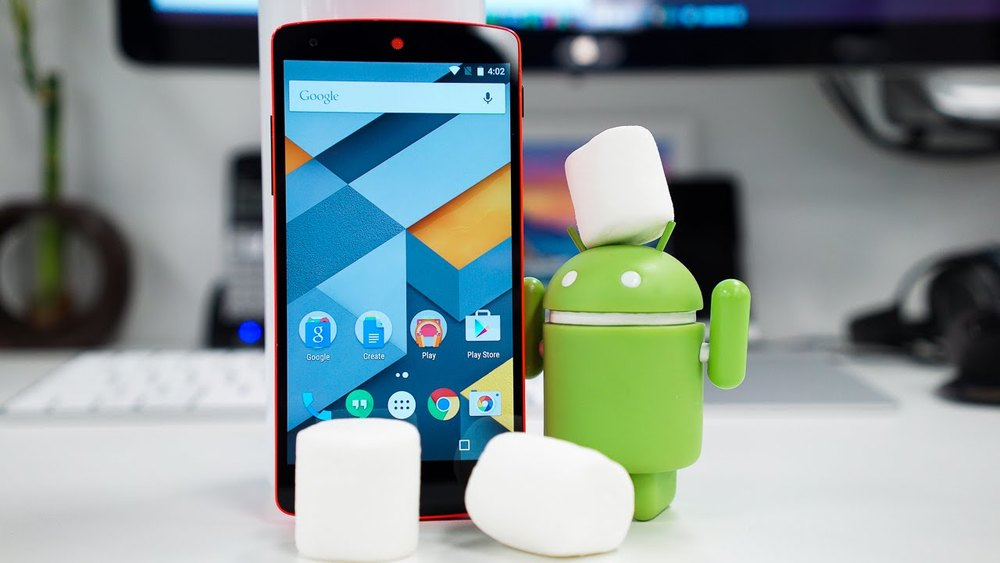 Every copy of Android's new operating system comes with three free marshmallows.