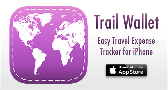 how to track travel expenses rtw couple