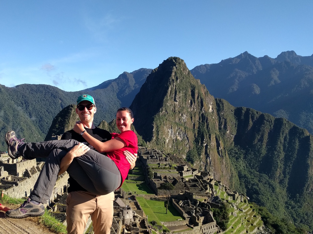 Me and Nate at Machu Picchu