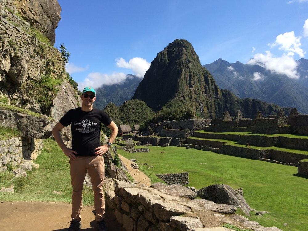 Nate at Machu Picchu