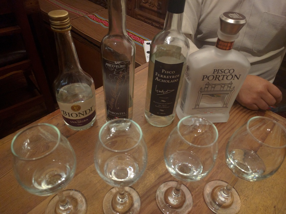 Pisco tastings lead to bad decisions.