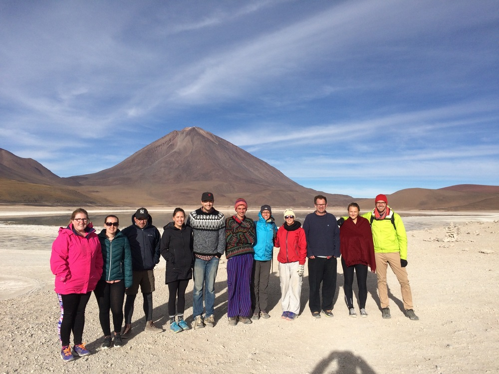 Our group on the Salt Flats tour.