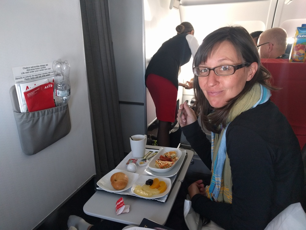 La Paz to Capetown: Avianca First Class Jess