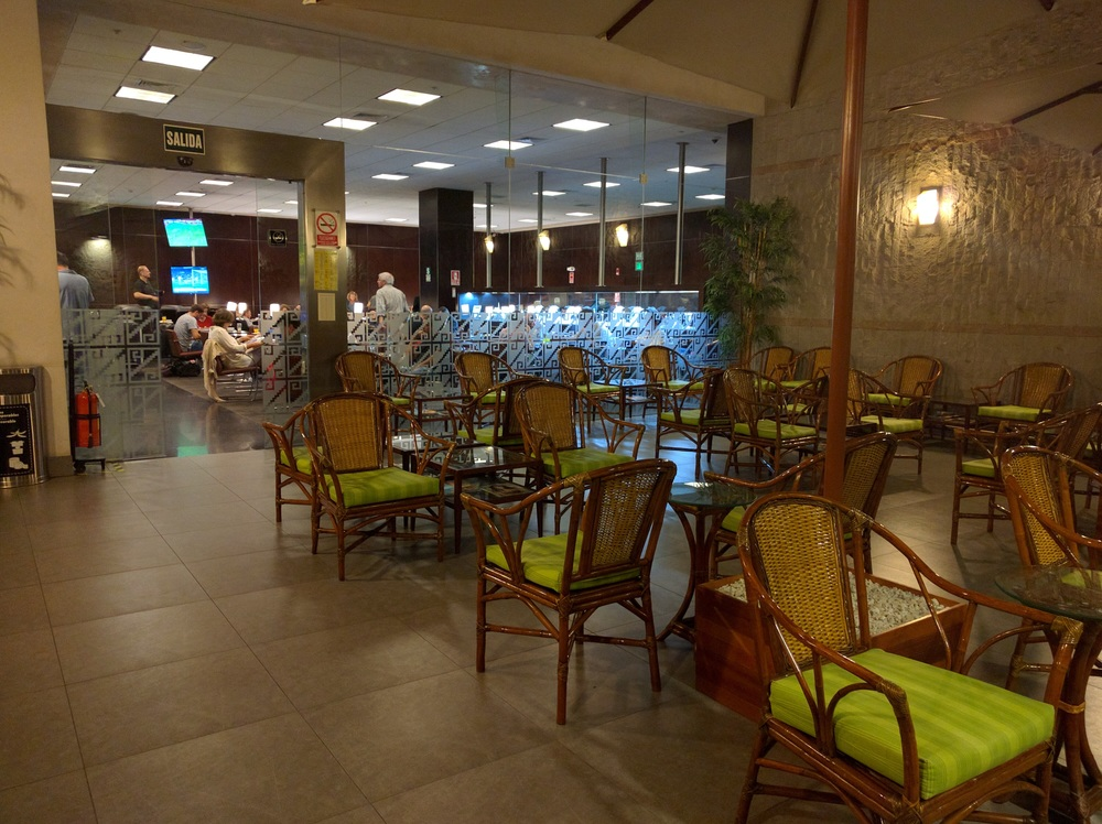 Jorge Chavez International Airport Sumaq Lounge Outdoor Space