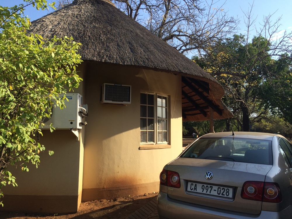 Our bungalow at Satara Rest Camp in Kruger National Park.
