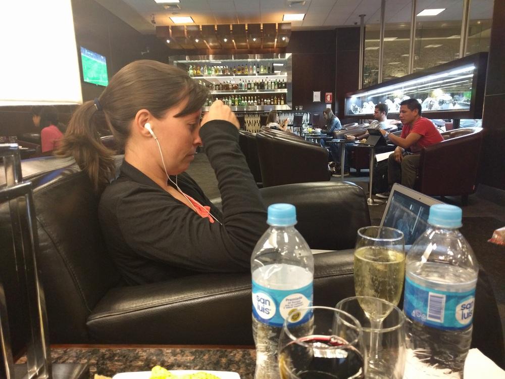 Sumaq Lounge Jorge Chavez Airport Jess Netflix