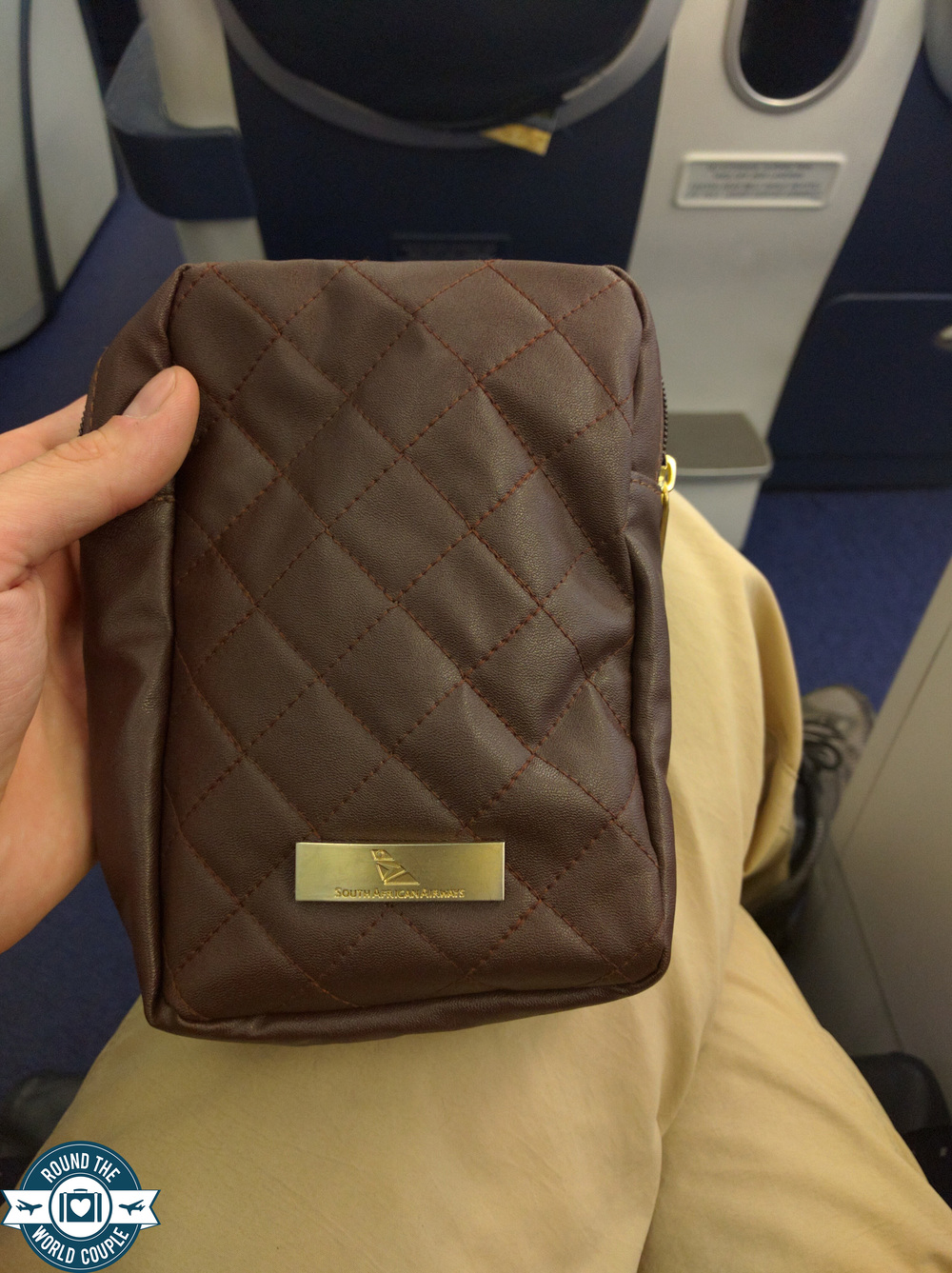 South African Airlines Business Class Sao Paolo to Johannesburg Amenity Kit