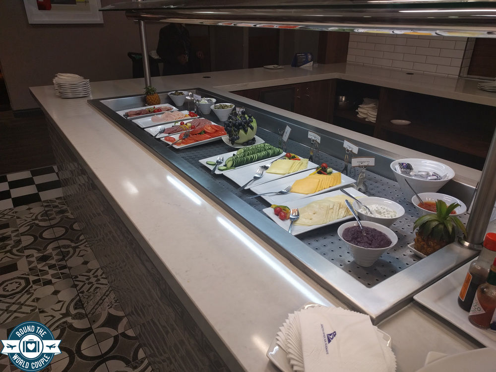 South African Airlines Premium Lounge at OR Tambo Food 2