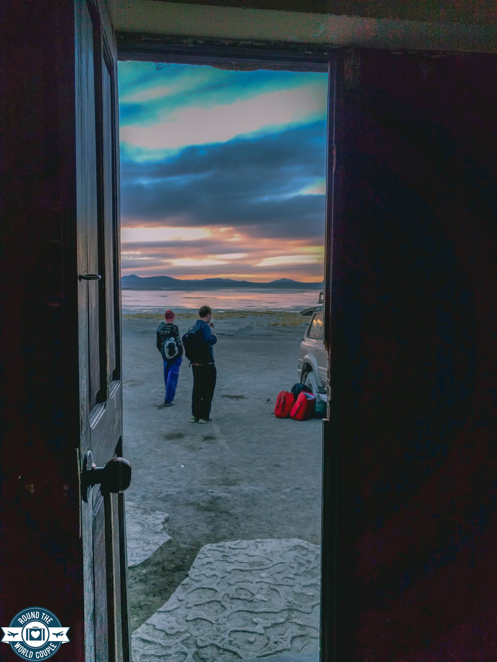 Salt Flats hot springs lake doorway (1 of 1).jpg