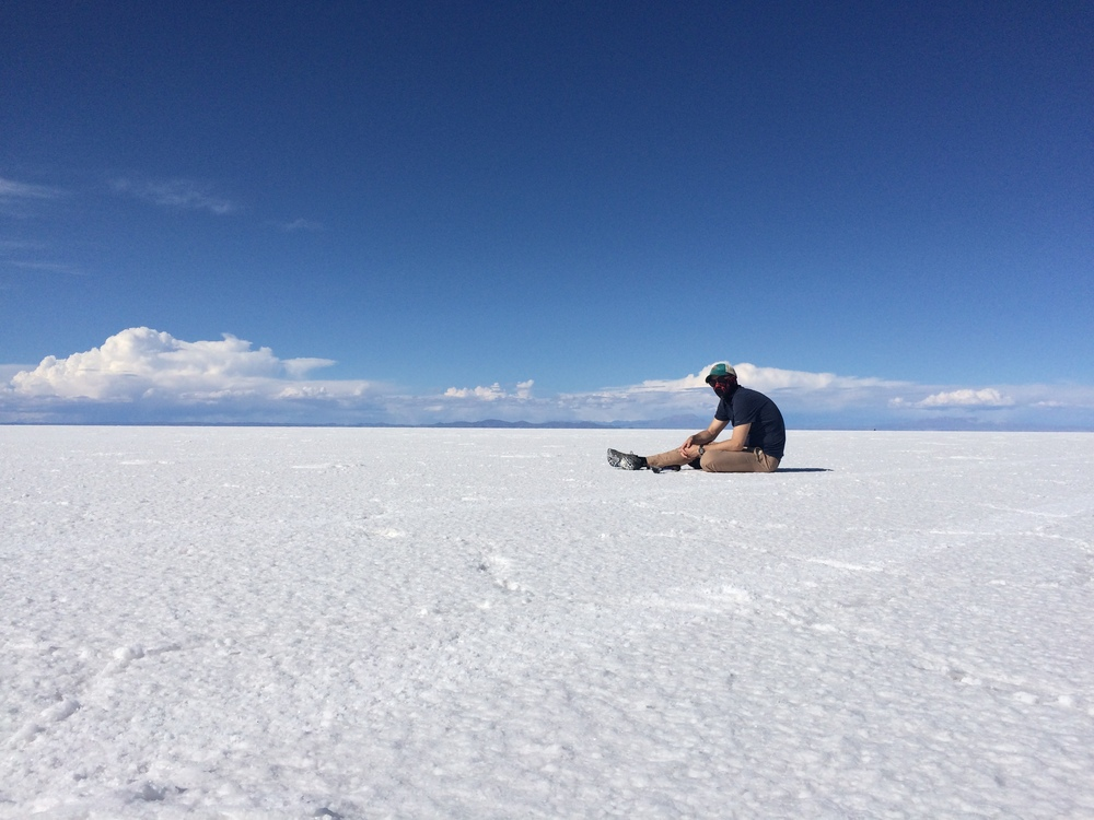 The Hunch Back of the Bolivian Salt Flats.