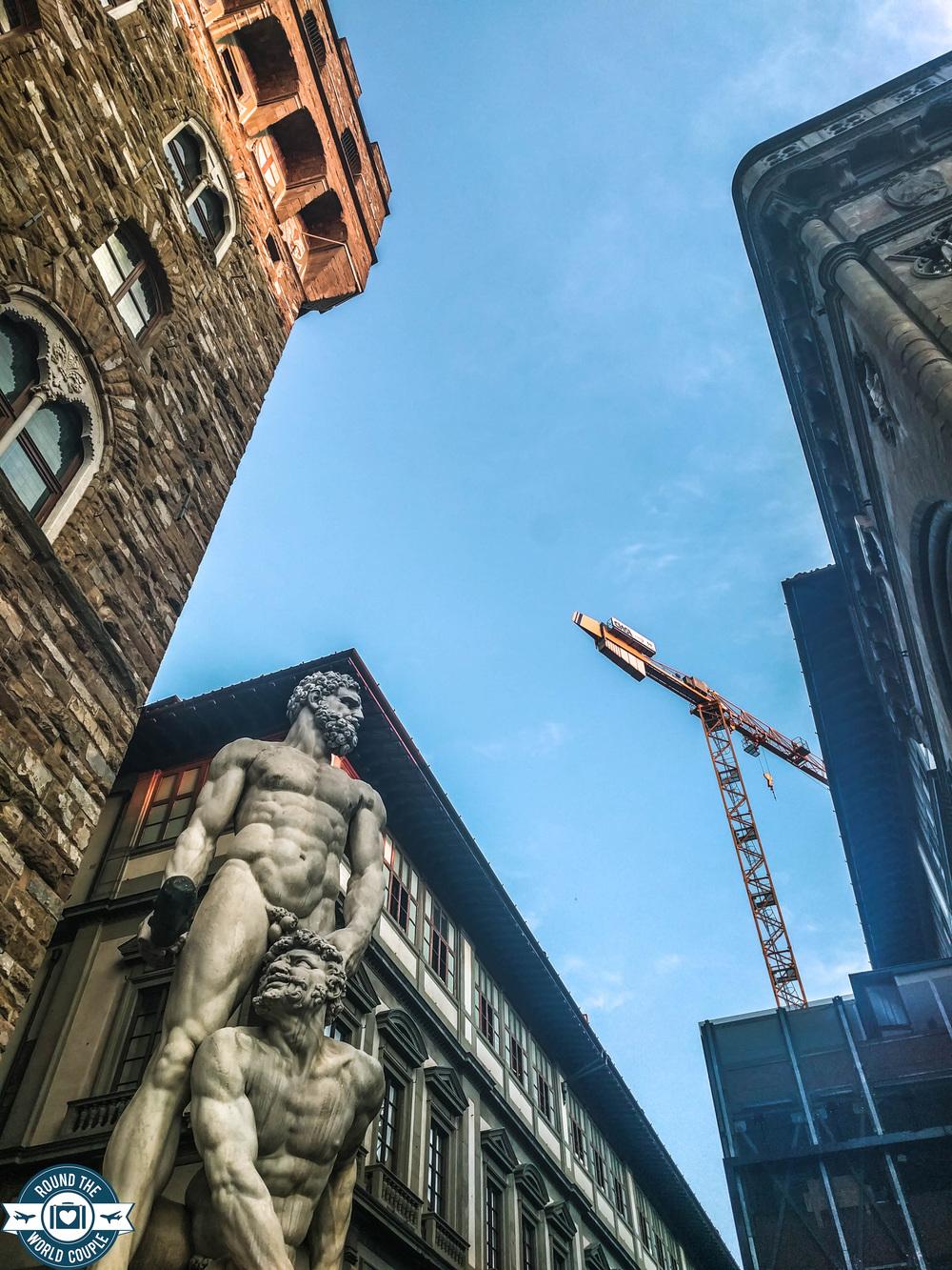 Bartolommeo Bandinelli's Hercules and Cacus, Piazza della Signoria, Florence, Italy