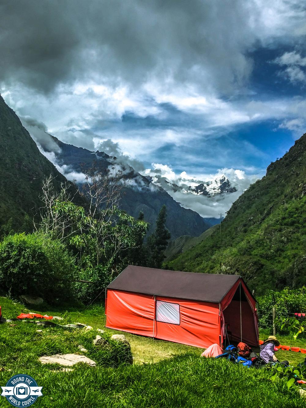 Wilkapampa Glacier, Inca Trail, Peru