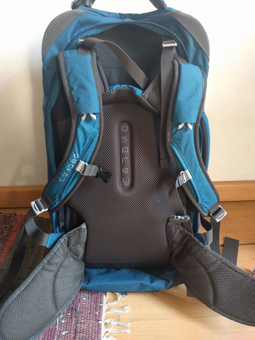 Tortuga Travel Backpack vs Osprey Farpoint 55 Travel Pack 5