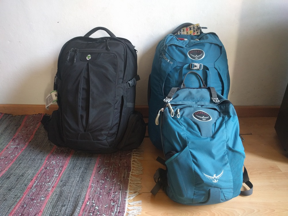 how to pack in a backpack for travel