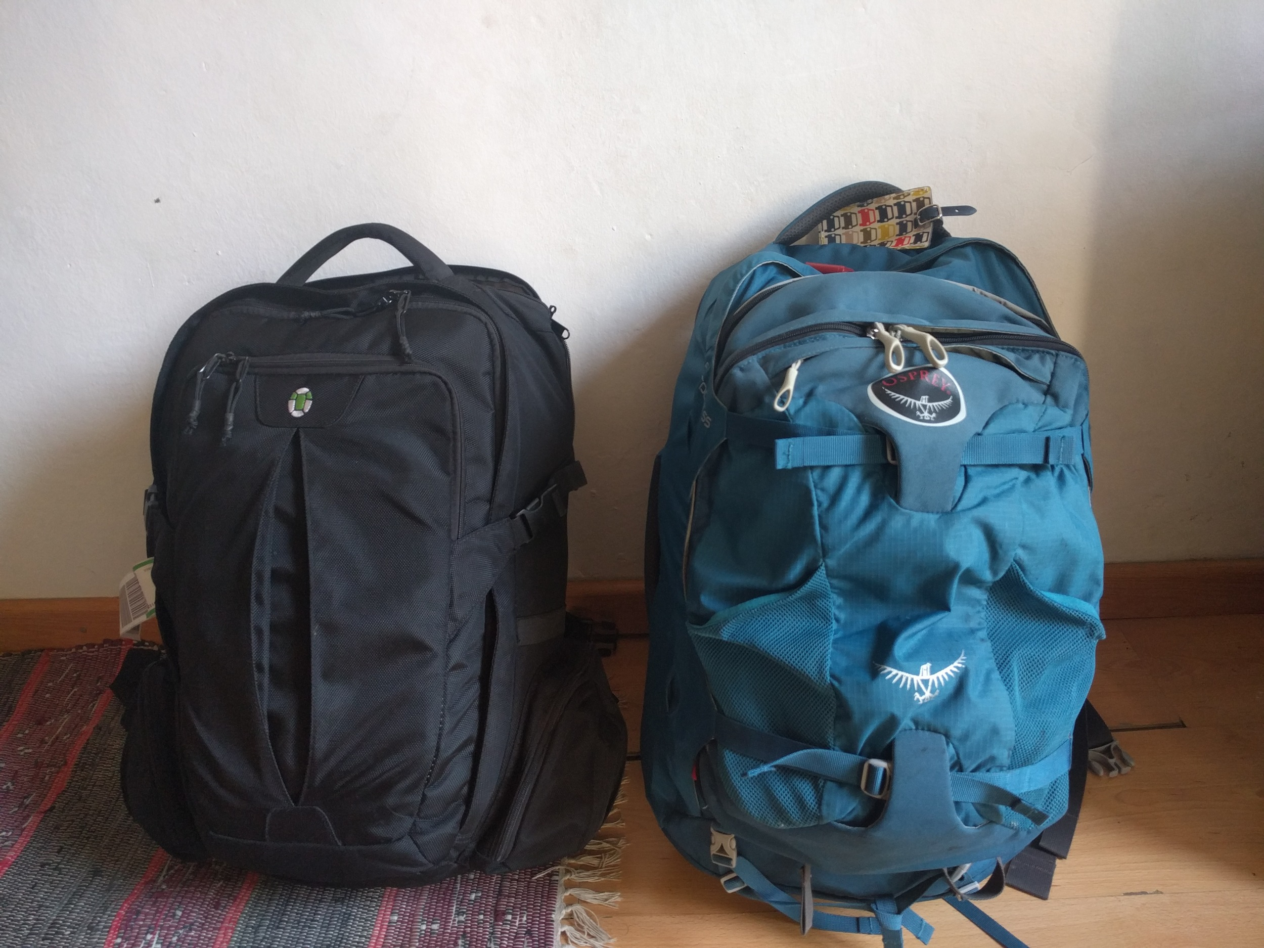 8678aa1e2640 What's the Best Bag for Long-Term Travel: Tortuga Travel Backpack vs Osprey  Farpoint