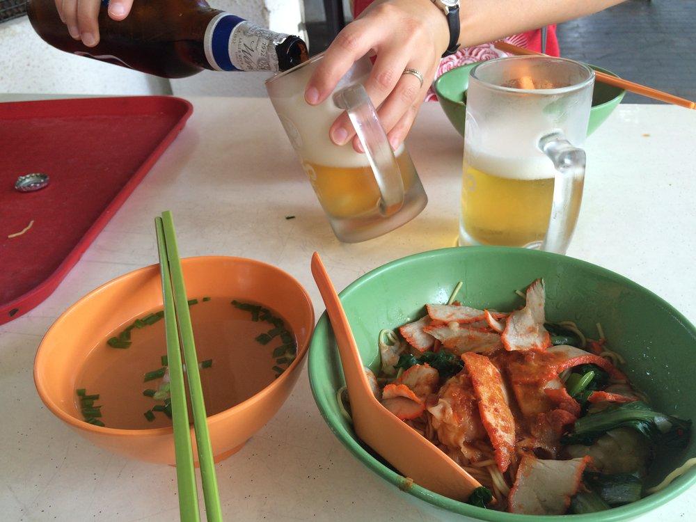 Wonton mee from Kok Kee Wanton Noodle