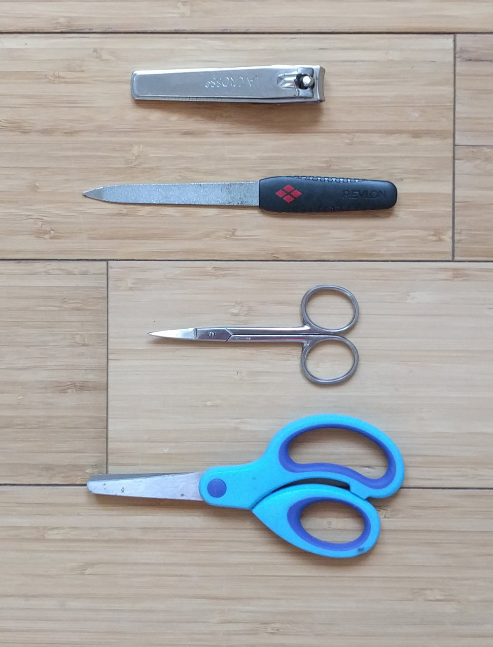Scissors and nail clipprs
