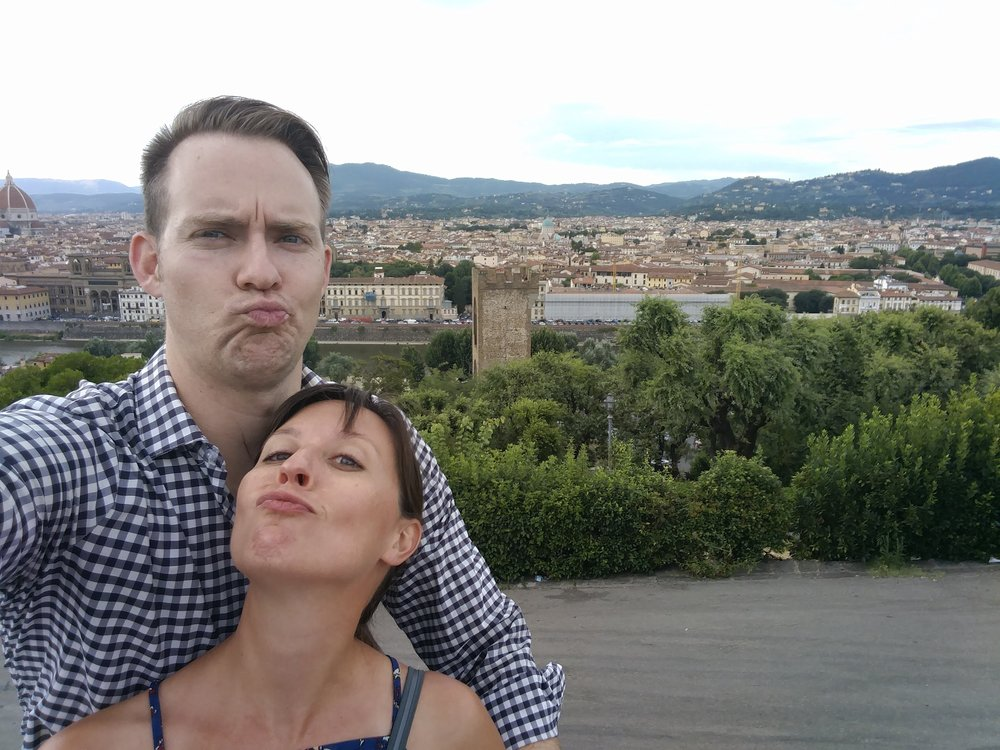 Smooches. (Florence, Italy)