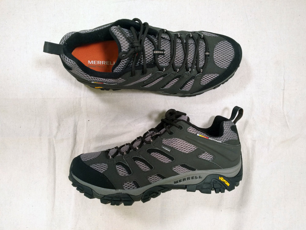 Men's Merrell's Moab Ventilator with Gore-Tex