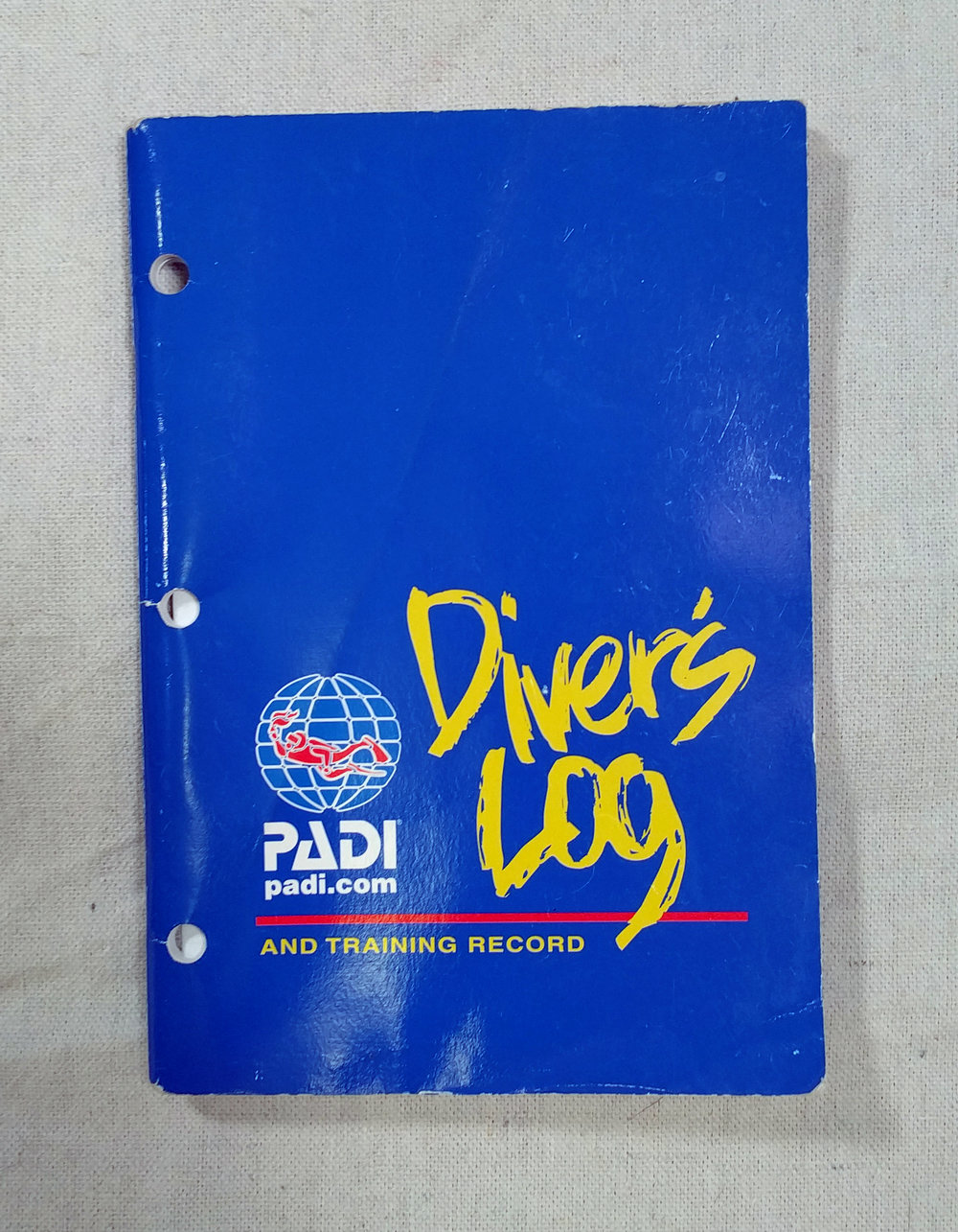 You also don't need to bring along a diver's log. Especially if you dive only a handful of times on your trip.