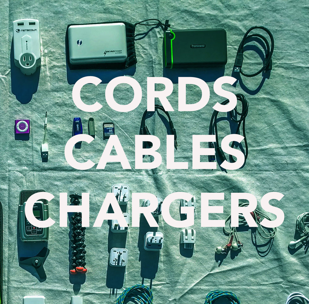 Cords Cables Chargers