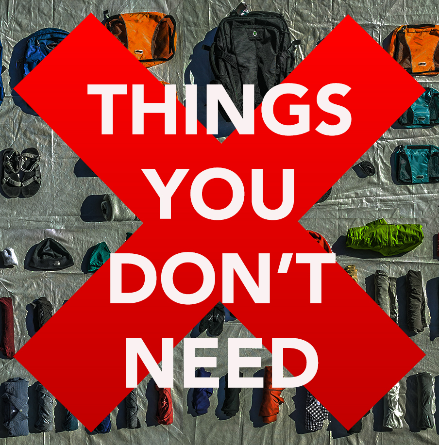 Things You Dont Need