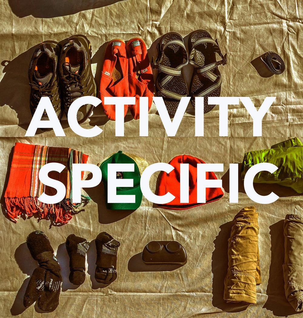 Activity Specific