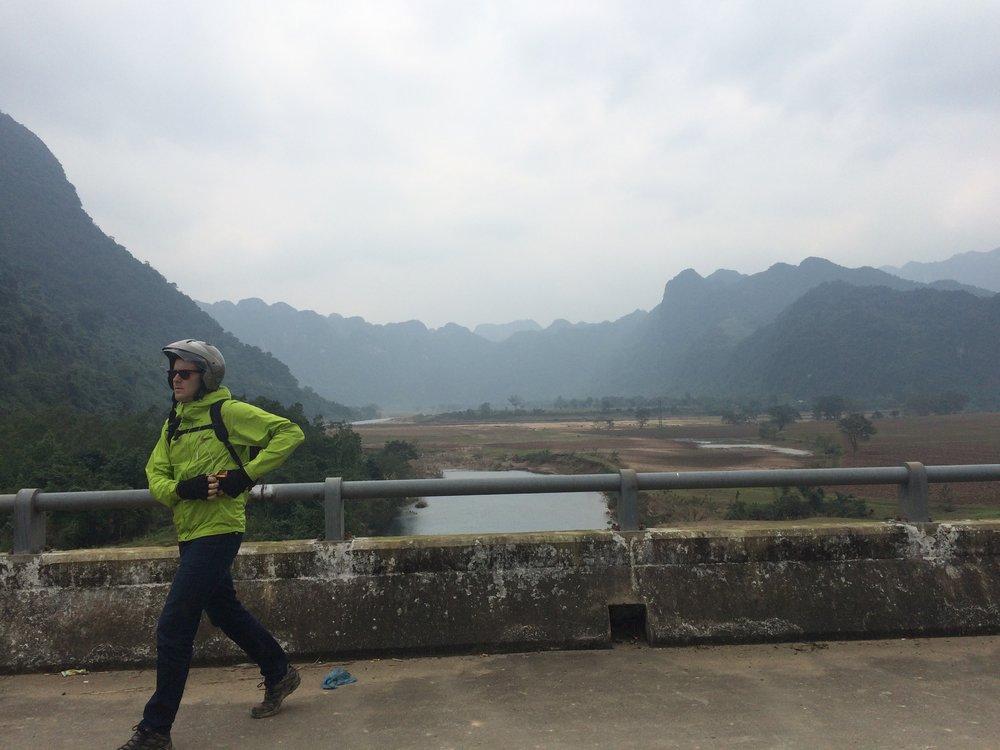 Can't stop. Motorbiking emergency. (Hue, Vietnam)