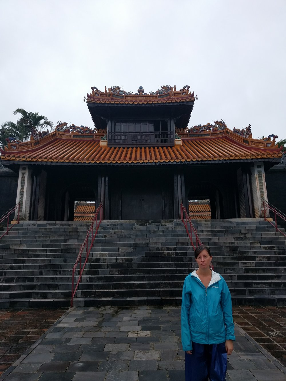 Officially the one billionth temple I have visited this year.  (Hue, Vietnam)