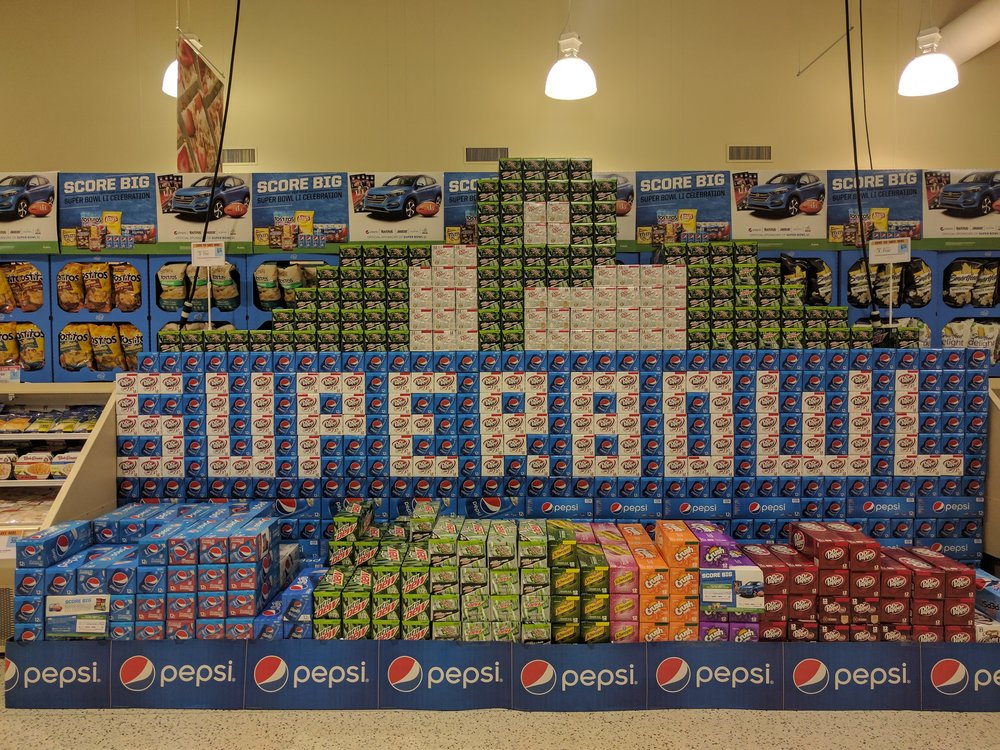 When we saw this in the grocery store, we felt like it was the American-est.