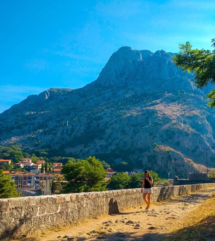 Exploring Kotor, Montenegro.