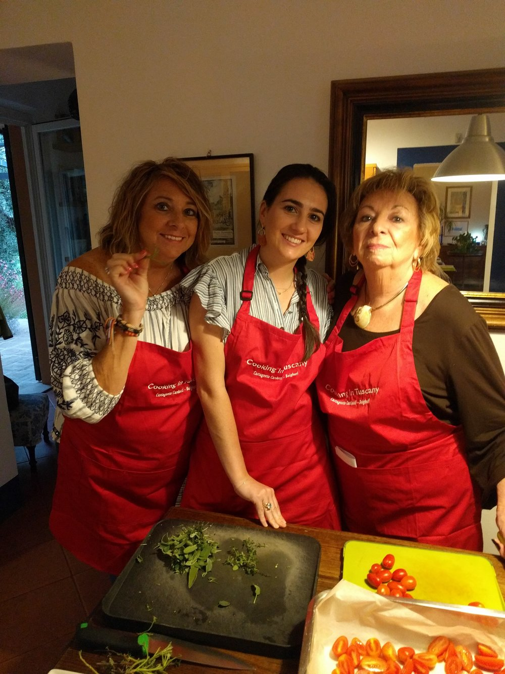 Three generations on one Cooking Vacation!